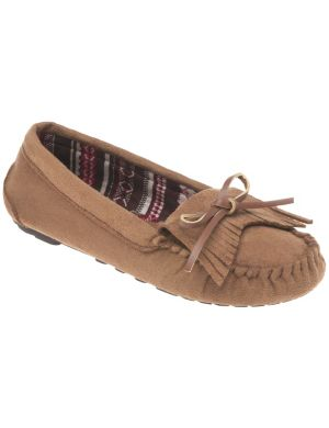 Fringed moccasin