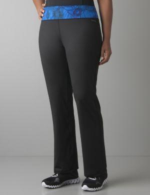 Print waist fitness pant by Reebok