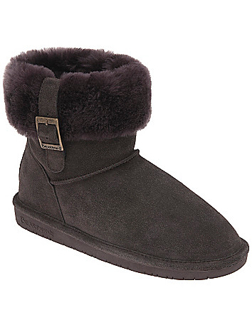 Bearpaw short boot by Lane Bryant