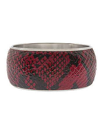 Snakeskin bangle bracelet by Lane Bryant