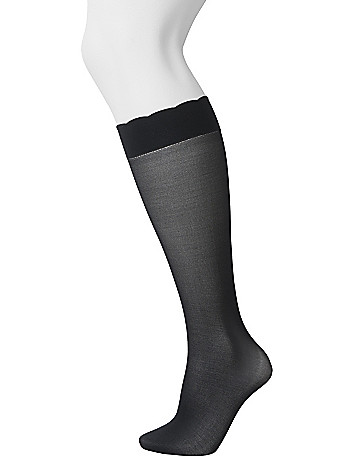 Solid trouser sock 2- pair set