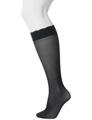 Solid trouser sock 2- pair set