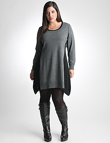 Plus Size Sweater Tunic by Lane Bryant