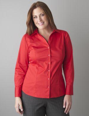 Cotton sateen shirt