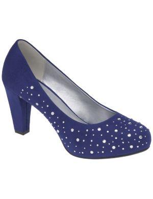 Rhinestone heel