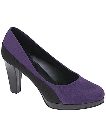 Colorblock heel by Lane Bryant