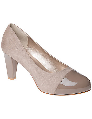 Patent toe heel by Lane Bryant