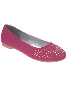 Embellished flat by Lane Bryant