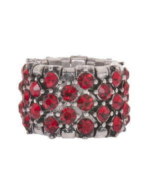 Rhinestone band stretch ring by Lane Bryant