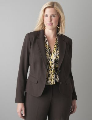 Banded waist jacket