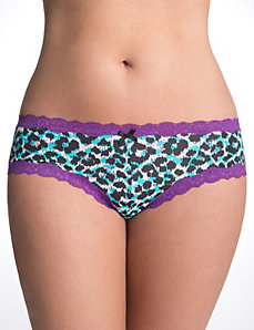 Plus size cheeky panty by Cacique