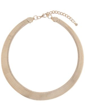 Cobra chain collar necklace by Lane Bryant