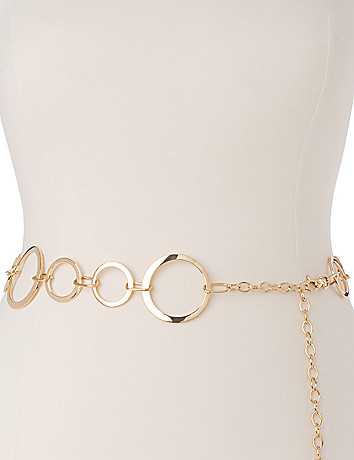 Plus Size Chain Belt by Lane Bryant