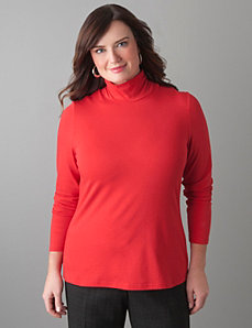 Plus Size Knit Turtleneck by Lane Bryant