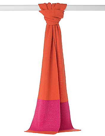 Colorblock Sparkle Scarf by Lane Bryant
