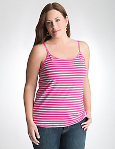 Plus Size Cotton Stretch Cami by Lane Bryant