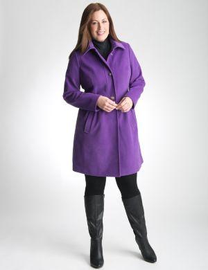 Babydoll coat