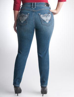 Embellished skinny jean by Seven7