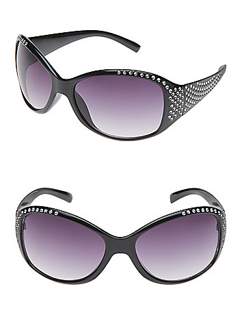 Rhinestone earpiece sunglasses
