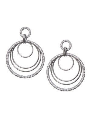 Nested hoop earrings by Lane Bryant