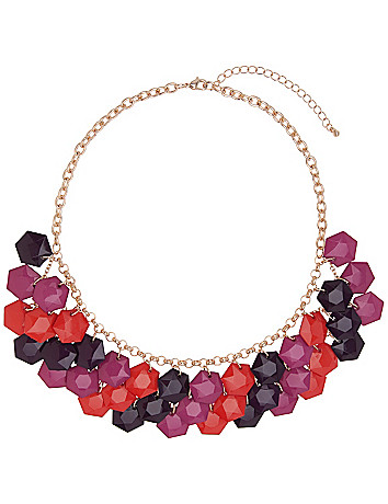 Hex bead necklace by Lane Bryant