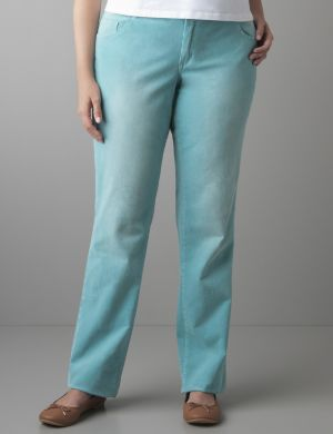 Colored corduroy pant