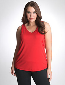 V-neck tank by Reebok