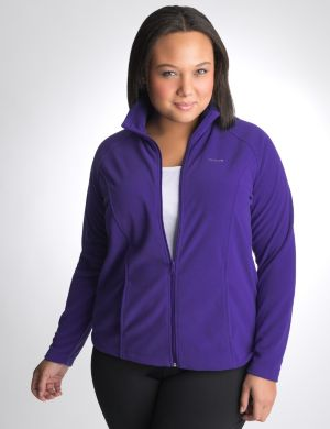 Micro fleece jacket by Reebok