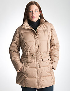 Plus Size Puffer Coat by Lane Bryant