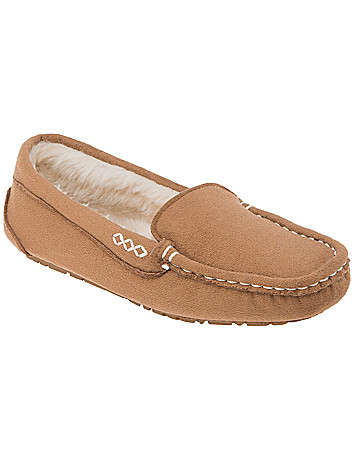 Wide Width Metallic Moccasin by Lane Bryant