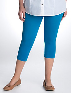 Control top capri leggings