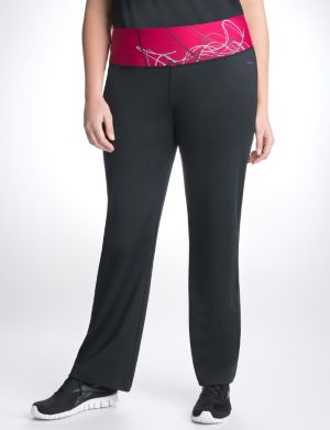 Graphic waist fitness pant by Reebok