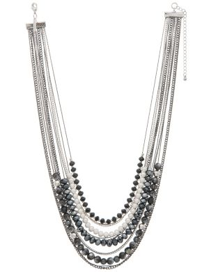 Multi chain short necklace by Lane Bryant