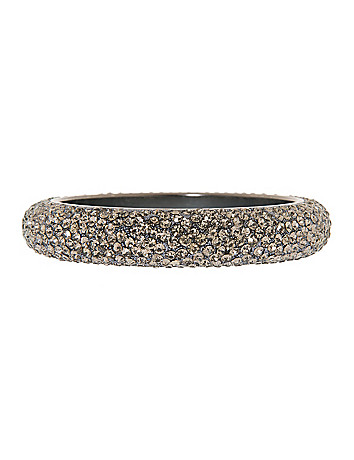 Rhinestone bangle bracelet by Lane Bryant