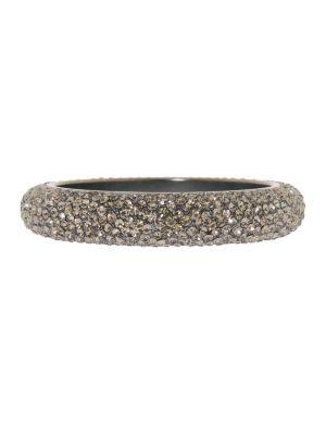 Rhinestone bangle bracelet by Lane Bryant