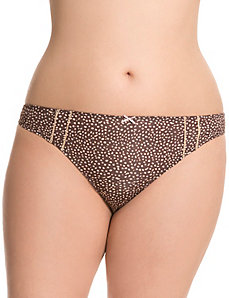 Dazzler microfiber thong panty