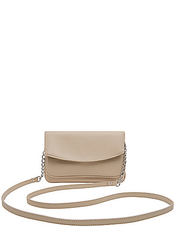 Crossbody clutch bag by Lane Bryant