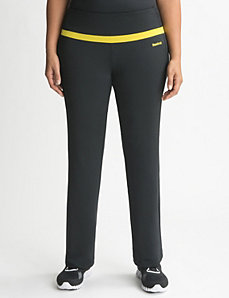 Full Figure Mesh Trim Active Pant by Reebok
