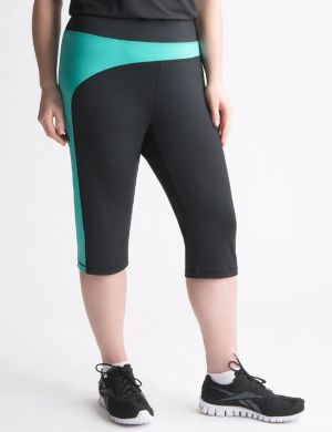 Color splice active capri by Reebok