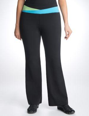Colorblock waist yoga pant