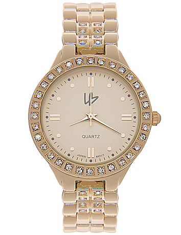 Rhinestone accent watch by Lane Bryant