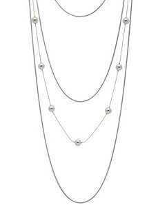 Tiered chain necklace by Lane Bryant by LANE BRYANT