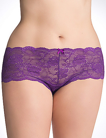 Plus Size Lace Cheeky by Cacique