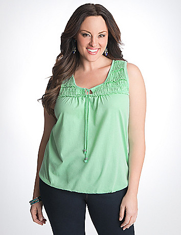 Full Figure Banded Bottom Top by Lane Bryant