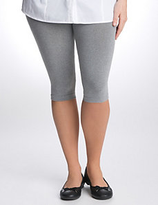 Control top capri legging by Lane Bryant