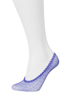 Two pair mesh foot liners by Lane Bryant