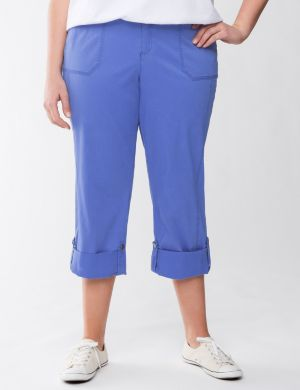 Convertible twill pant