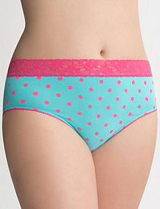 Plus Size high leg panty by Cacique