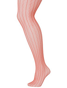 Zig zag fishnet tights