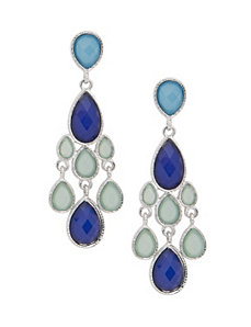 Mini chandelier earrings by Lane Bryant
